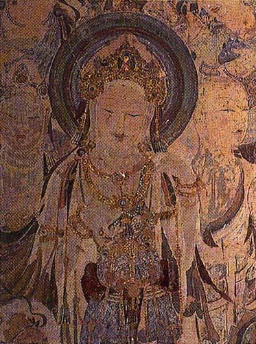 112窟 反弹琵琶 中唐-敦煌壁画欣赏